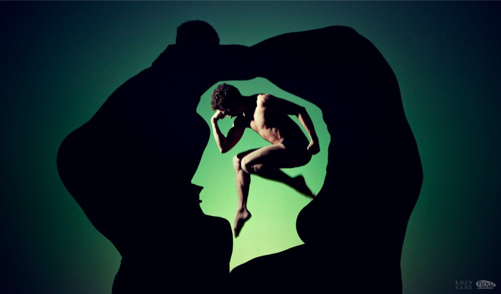 Flowmotion Dance Company Thinking Head in the Shadows