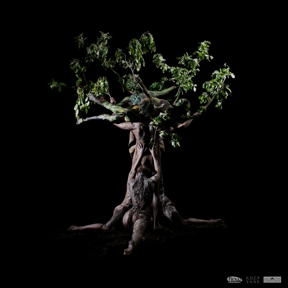Flowmotion Dance Company Bodypainting Tree of Life